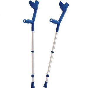 Laski inwalidzkie i kule łokciowe