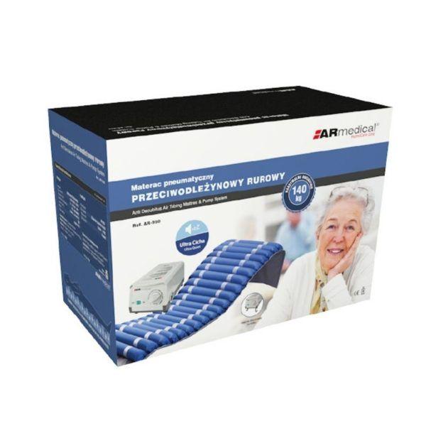materac przeciodleżynowe rurowy armedical z pompką pudełko (1)