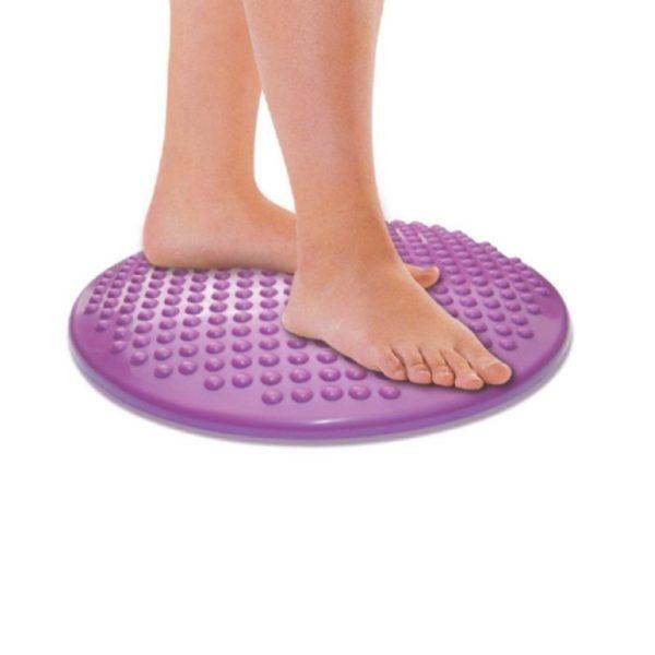 dynamiczna poduszka fioletowa na stopy
