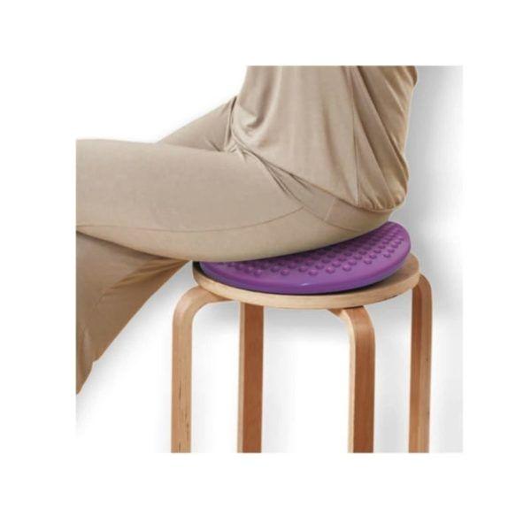dynamiczna poduszka fioletowa siedzenie