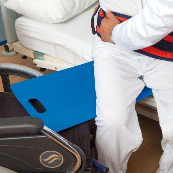 pomoc pacjenowi w transferze