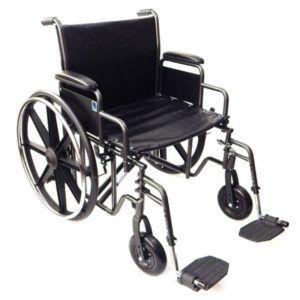 wozek inwalidzki do 225 kg