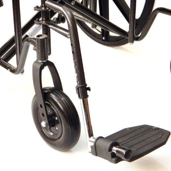 wozek inwalidzki do 225 kg podpórki pod nogi