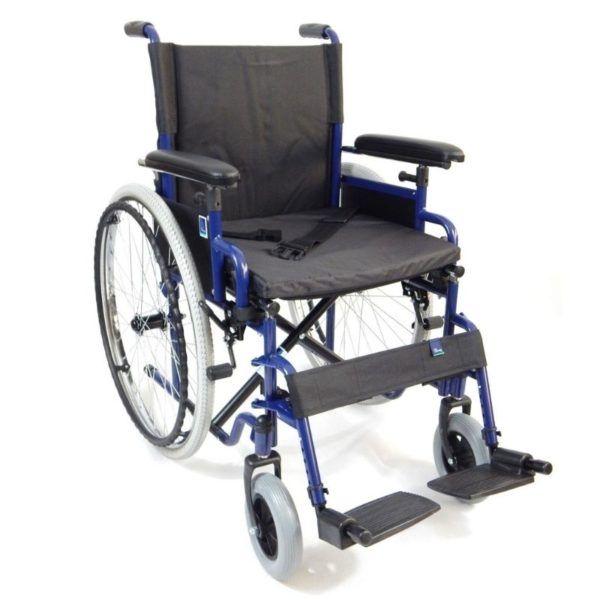 wozek inwalidzki stalowy klasyczny