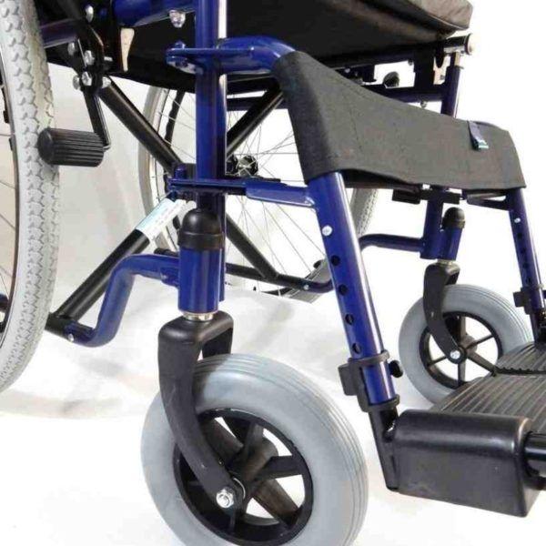 wozek inwalidzki stalowy klasyczny małe koła