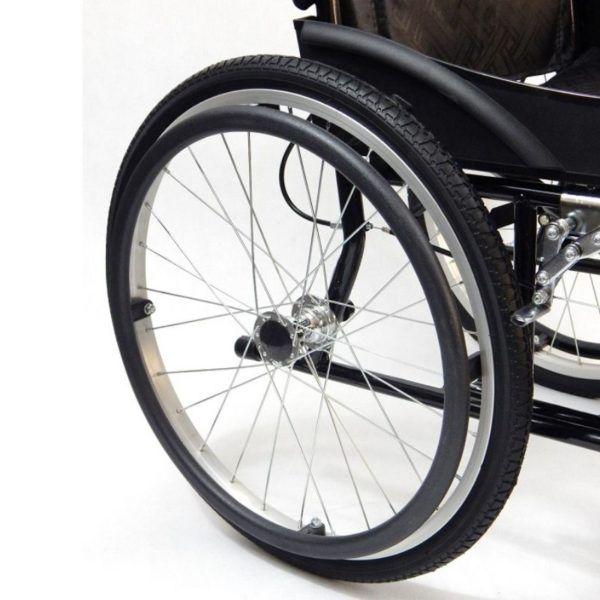 wozek inwalidzki stalowy koła