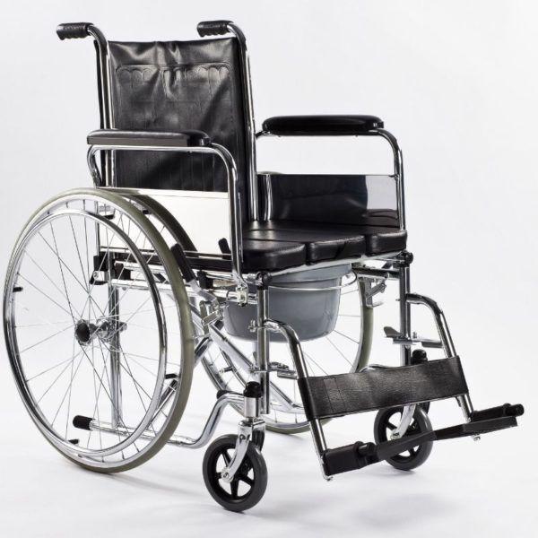 wozek inwalidzki z funkcją toalety timago